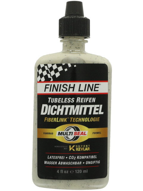 Finish Line Tubeless 120ml white/black